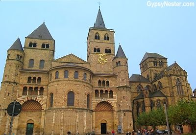The Liebfrauenkirche (Church of Our Lady) holds the title of the oldest Gothic church in Germany, while next to it, the even older High Cathedral of Saint Peter is the oldest church of any kind in the country. Trier Germany