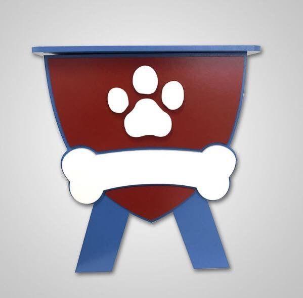 Mini Baú para decoração da sua casa ou festa! Modelo Patrulha Canina 🐶👇🏻 https://www.impaktovisual.com.br/display-mdf/9936-bau-patrulha-canina.html