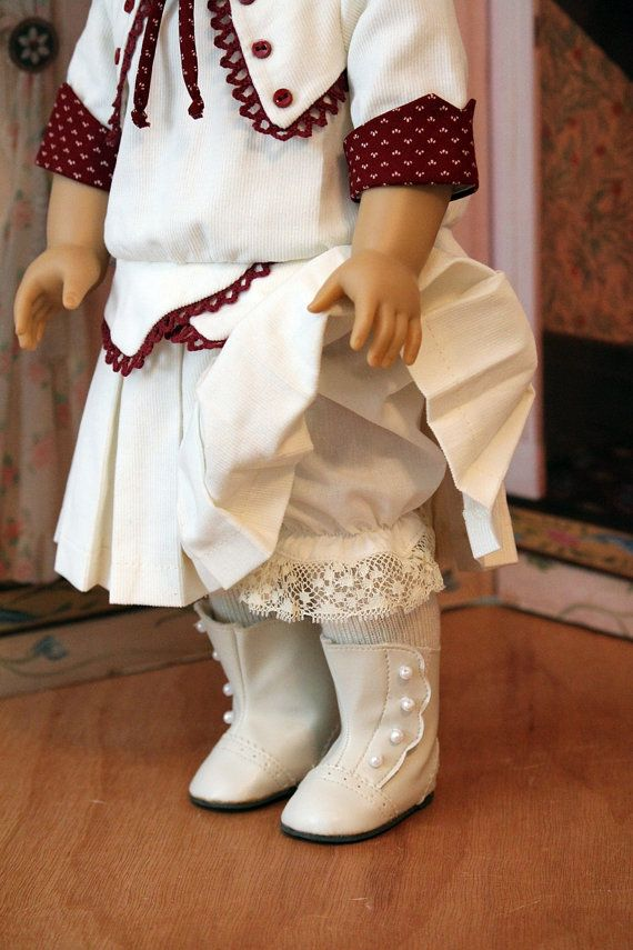 1914 Frock Hat and Bloomers For Dolls Like Rebecca by BabiesArtUs