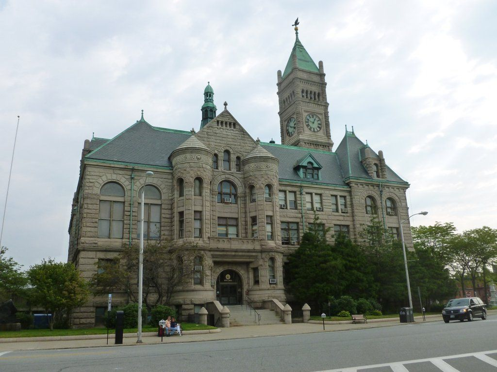 The absolutely stunning Lowell City Hall... Designed by Merrill and Cutler, 1893