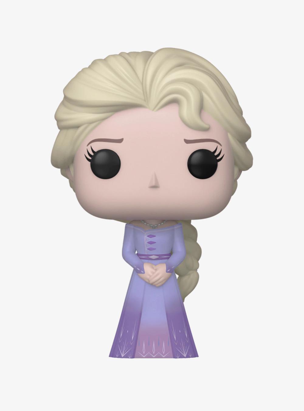 Funko Disney Pop Frozen 2 Elsa Vinyl Figure Hot Topic Exclsive In 2020 Disney Pop Vinyl Figures Funko Pop Dolls
