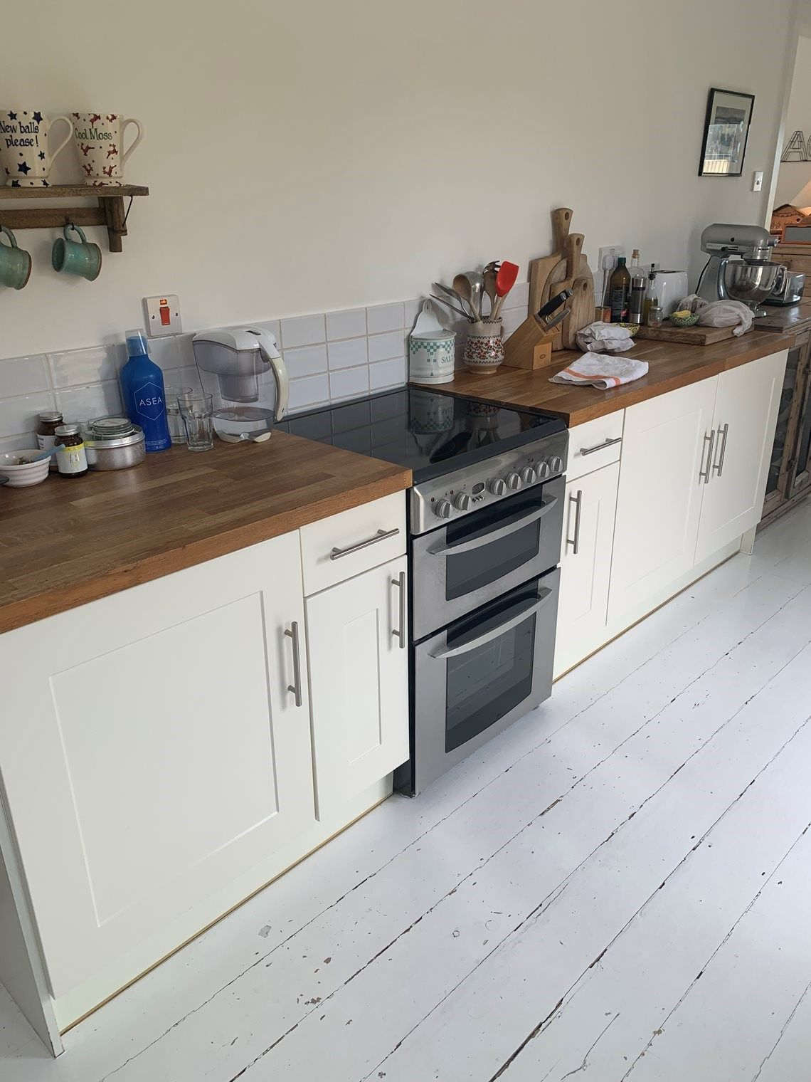 B Q Kitchen Units And Oven Collection St Ouen Kitchen Utility Hall Furniture B Q Kitchens Kitchen Units Hall Furniture