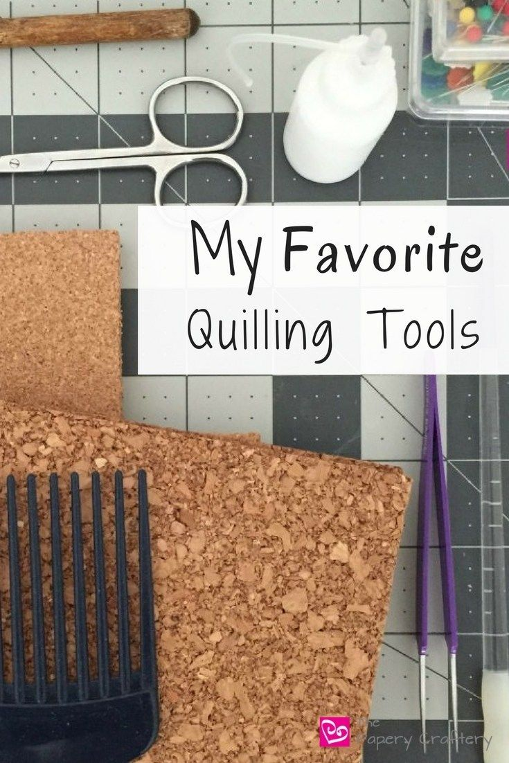 Photo of My Most Used Quilling Tools – The Papery Craftery