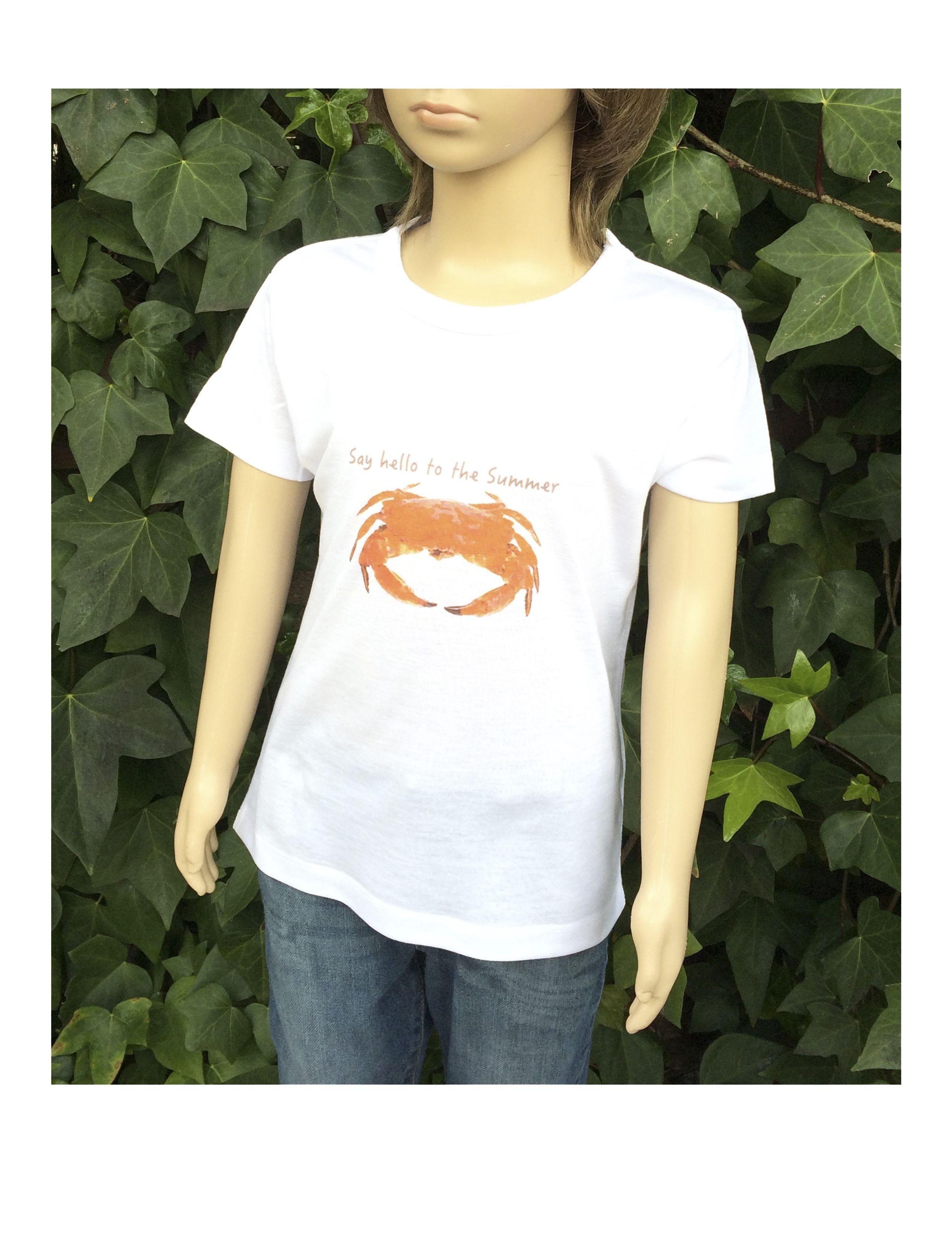 """Camiseta """"Cangrejo"""" www.smartyfun.es #kids #cangrejo #crab"""