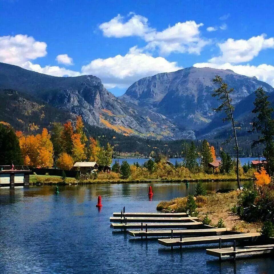 Colorado Springs And: Grand Lake, Colorado Beautiful.