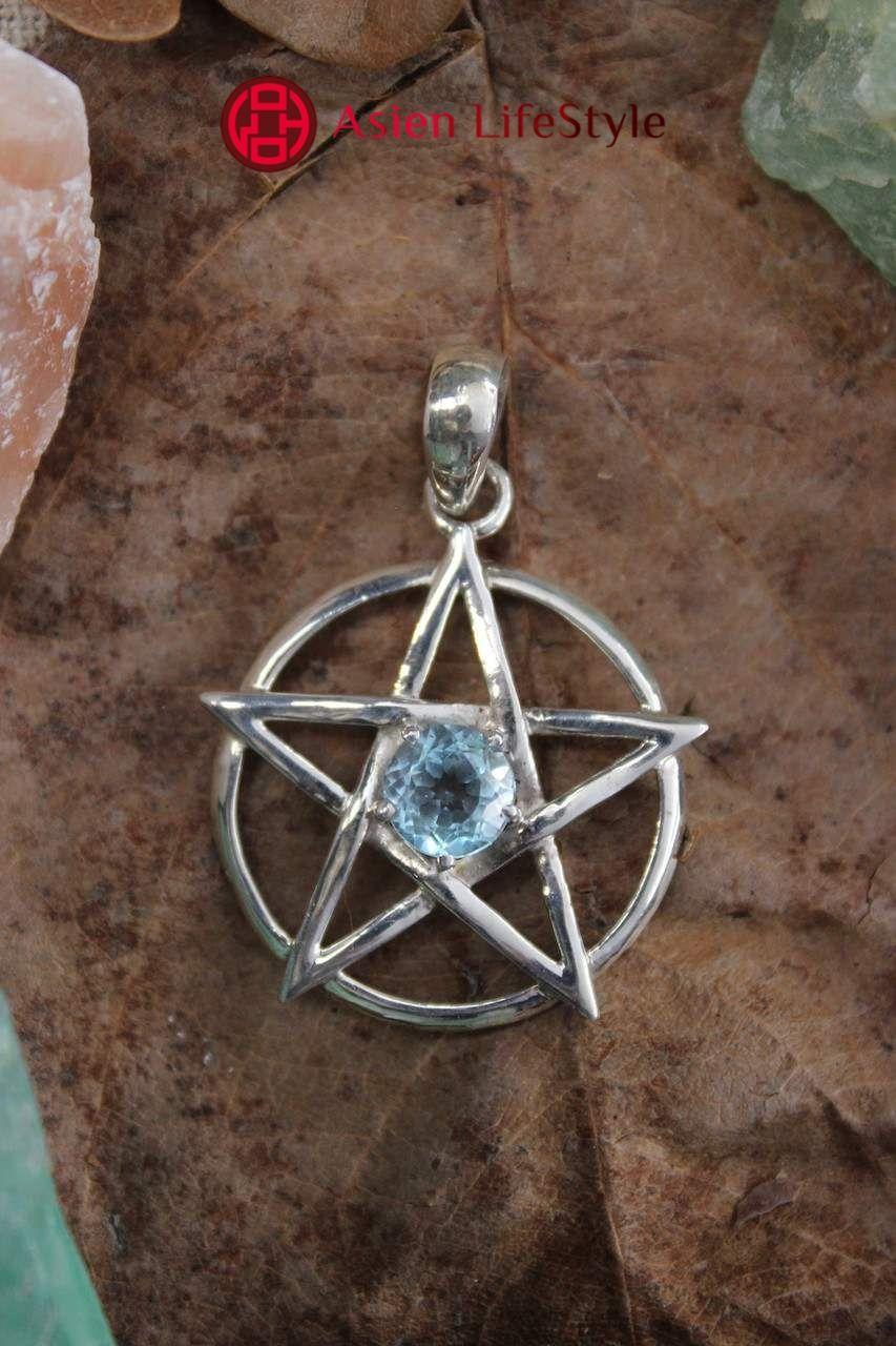 Phönix mit Amethyst Zeichen Anhänger Amulette 5,0 cm Symbol Silber 925