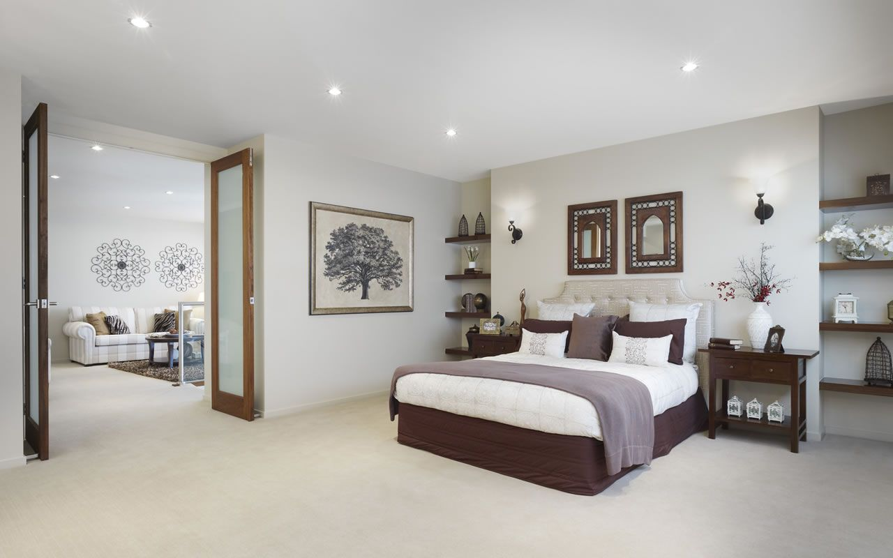 Master bedroom with double doors leading to the sitting area renovation ideas pinterest Master bedroom reno ideas