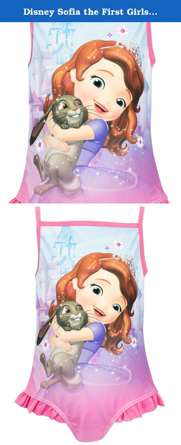 Disney Sofia The First Girls Sofia The First Swimsuit Age 4 Girls