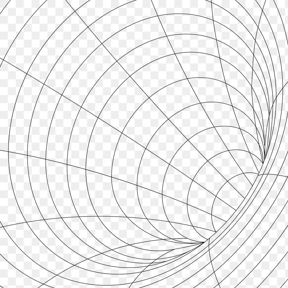 3d Grid Wormhole Illusion Design Element Free Image By Rawpixel Com Aew In 2021 Grid Design Pattern Design Element Design