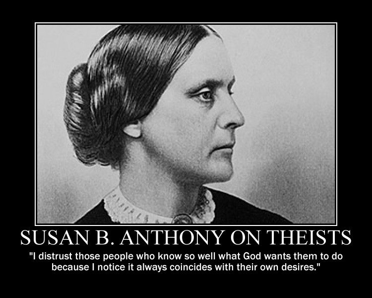 Susan B. Anthony (18201906). Lecturer and organizer who
