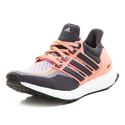 new style 83ce6 2867f Adidas Performance Women s Ultra Boost Running Shoe Color  Sun Glow  Yellow Solid Grey Glow Purple