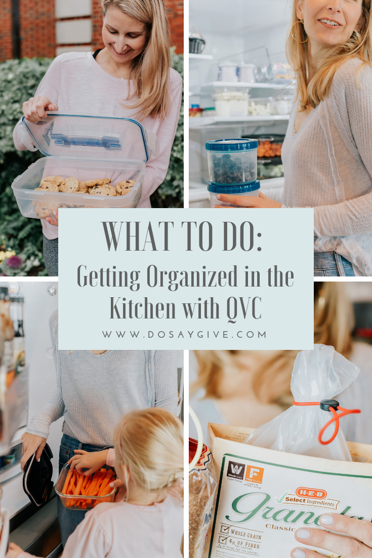 Getting Organized In The Kitchen With Qvc Getting Organized