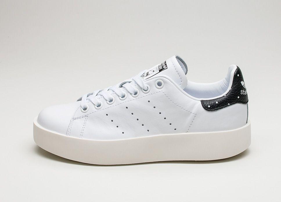 adidas stan smith in grassetto (ftwr bianco / ftwr bianco / nero lpu core)
