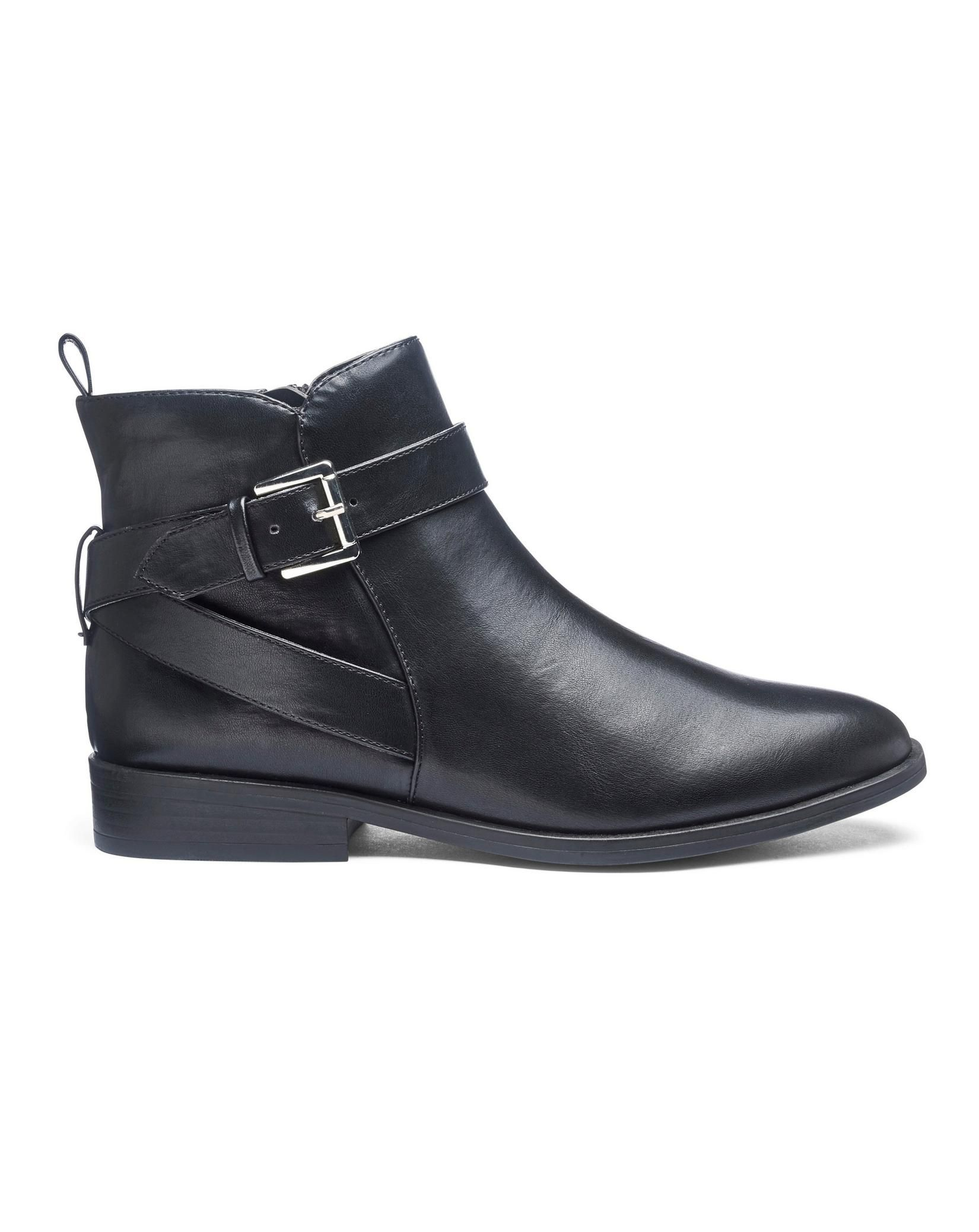 various styles good out x uk cheap sale Strap And Buckle Ankle Boots   Boots & Sandals & Shoes, Oh ...