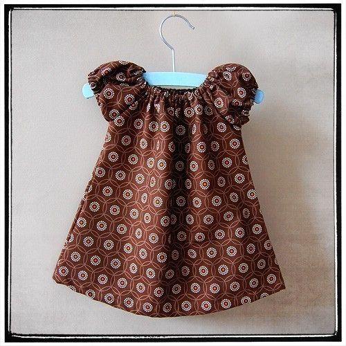 3ab06c9dfcca Sweet Little Dress for Babies Pattern PDF