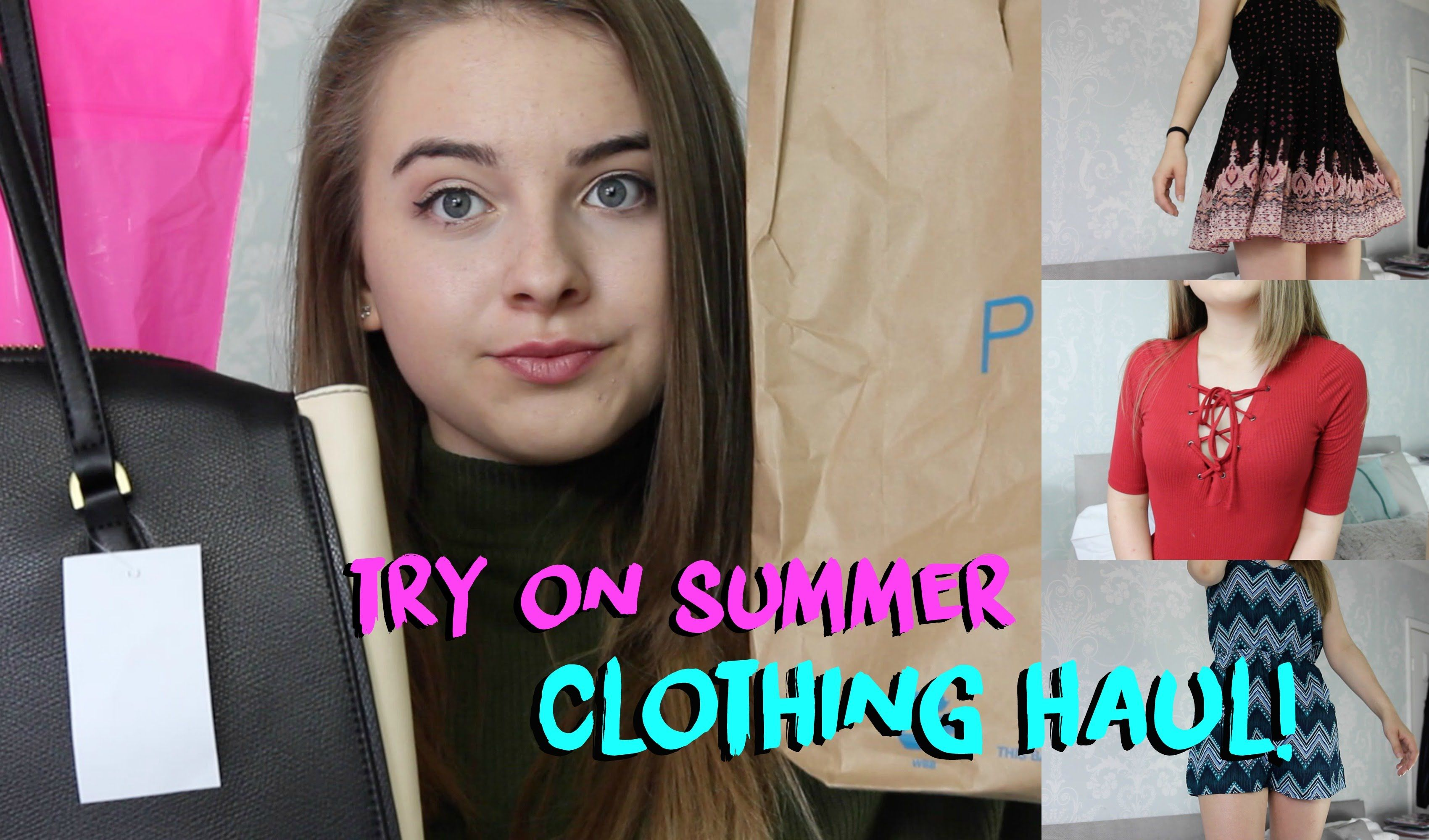 Try On Summer Haul Topshop Forever 21 Primark And More Eve