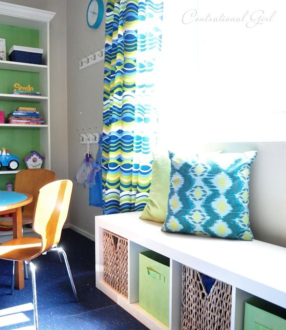 For Playroon Expedite Book Shelf From Ikea Turned Storage Bench