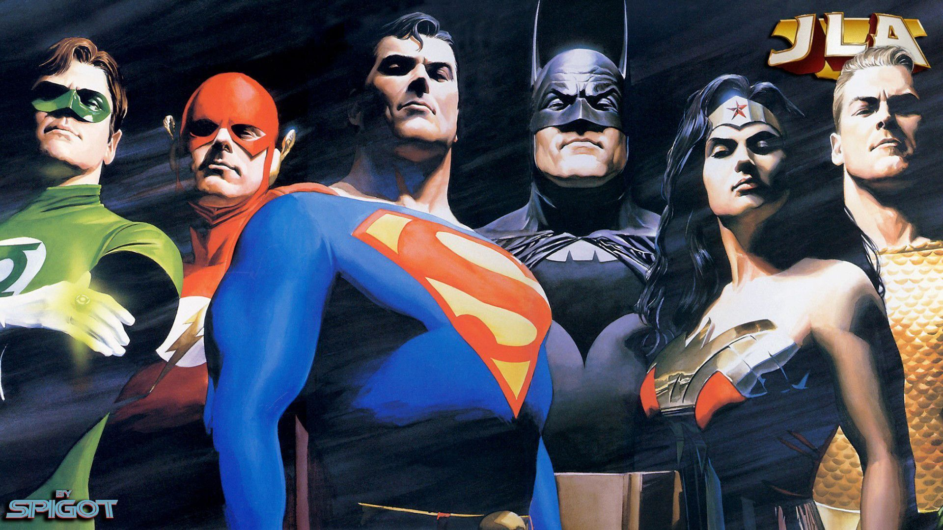 Wallpapers For Justice League Wallpaper Hd Alex Ross