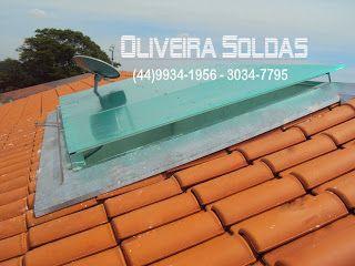 Oliveira Soldas Metalúrgica em Maringá: Cobertura de Policarbonato em Maringá- Jardim de inverno- Júnior