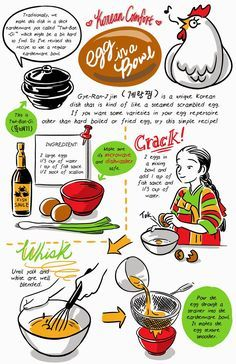 Korean steam egg recipe comic from banchan in two pages tumblr by korean steam egg recipe comic from banchan in two pages tumblr by robin ha korean food forumfinder Choice Image