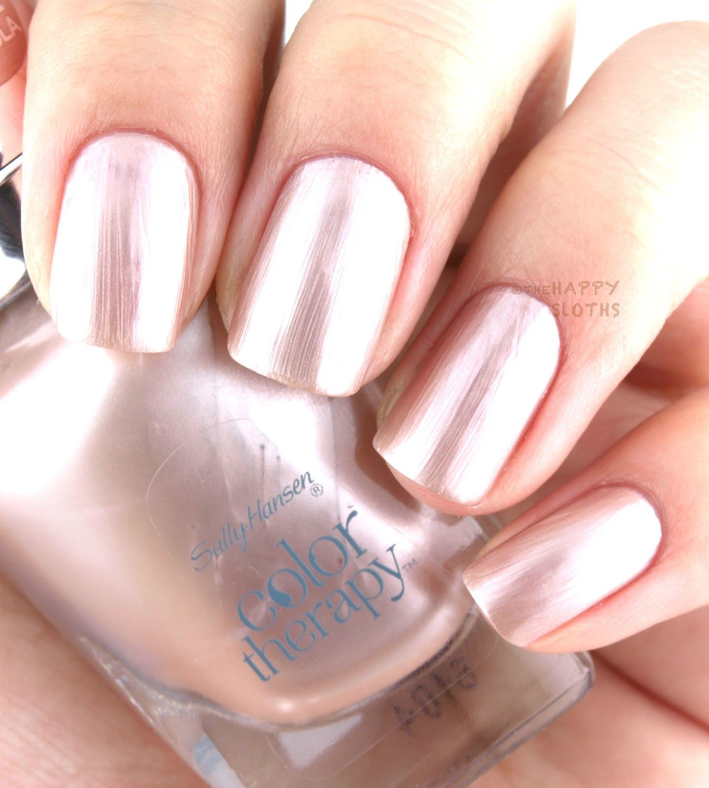 Colour therapy for marriage - The Happy Sloths Sally Hansen Color Therapy Nail Polish Review And Swatches