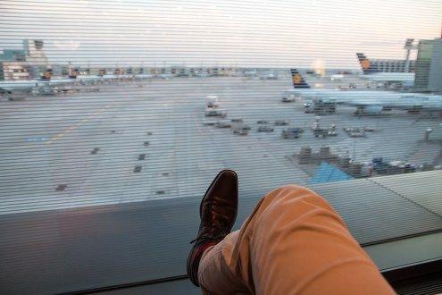 Review Lufthansa Boeing 7478 Business Class nach