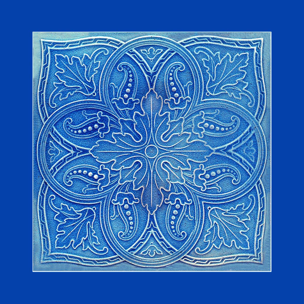 38 Original Art Nouveau tile. Artist unknown. Please say if you know ...