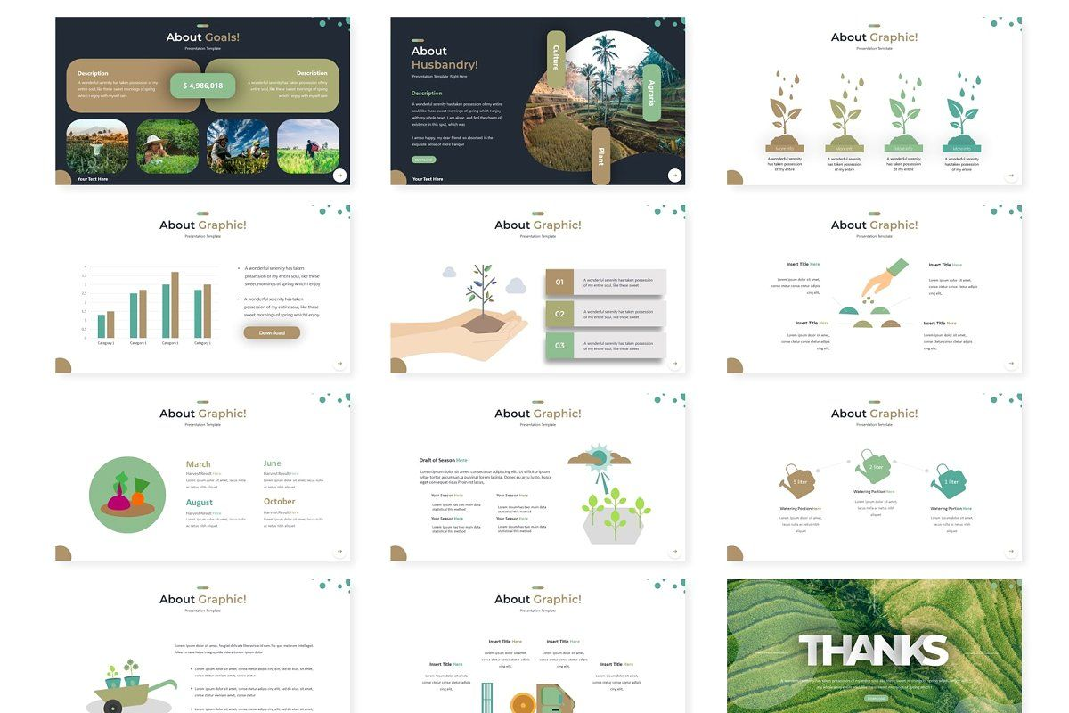 Agraio Google Slides Template Google Slides Template Powerpoint Templates Business Card Design Minimalist