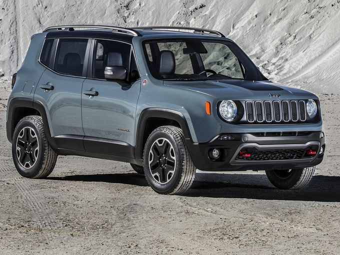 Jeep Renegade Photos Leak Ahead Of Reveal Jeep Renegade 2015