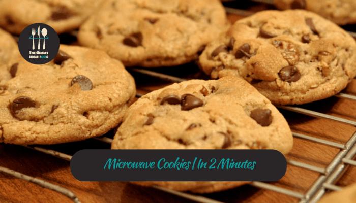 Microwave Cookies | In 2 Minutes