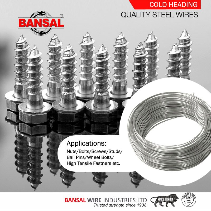 Bansalgroup Cold Heading Steel Wire Stainless Steel Wire High Carbon Steel