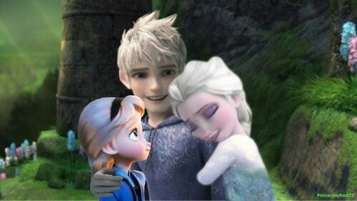 Jack Frost Elsa Frost And Their Daughter Jack Frost Jack Frost And Elsa Jelsa