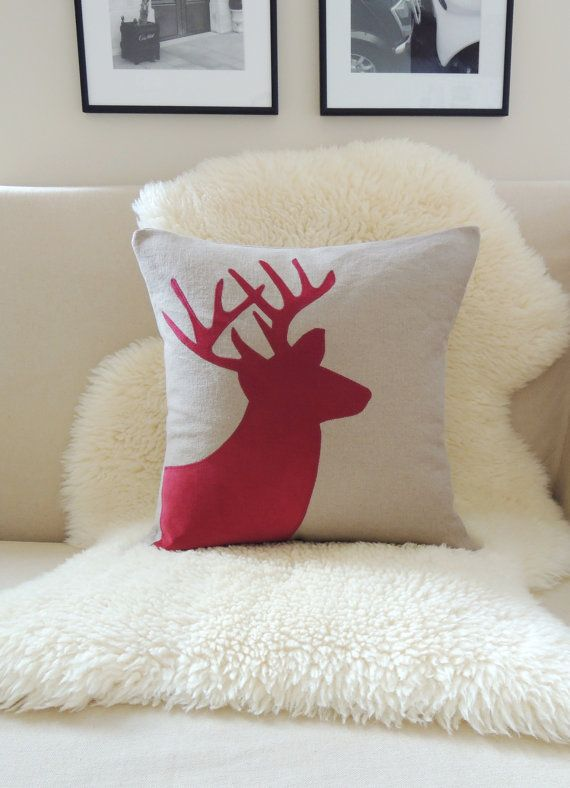 Boho Tribal Pillow Cover - Choose A Design Rustic modern, Deer and Pillow covers