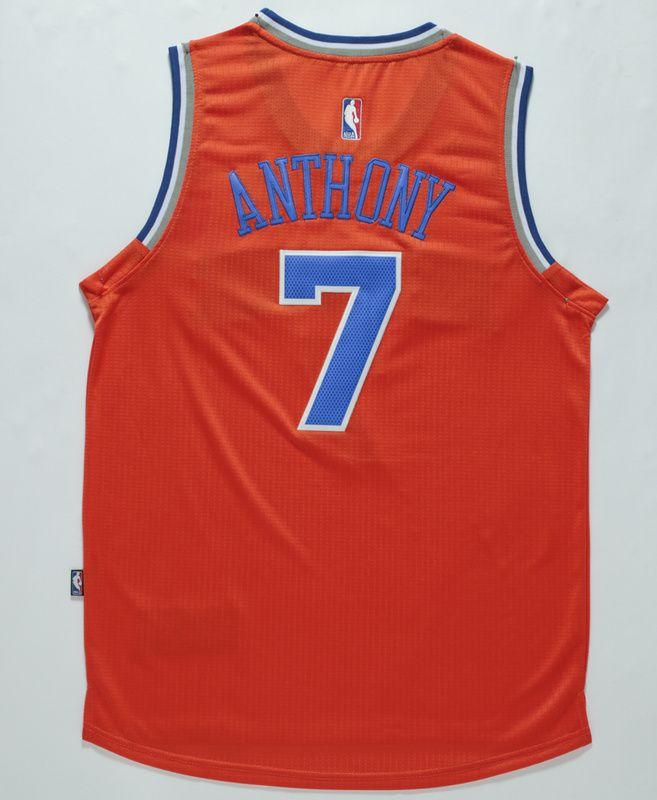New York Knicks Carmelo Anthony  7 Revolution 30 Swingman Alternate Jersey 7d1b1762e