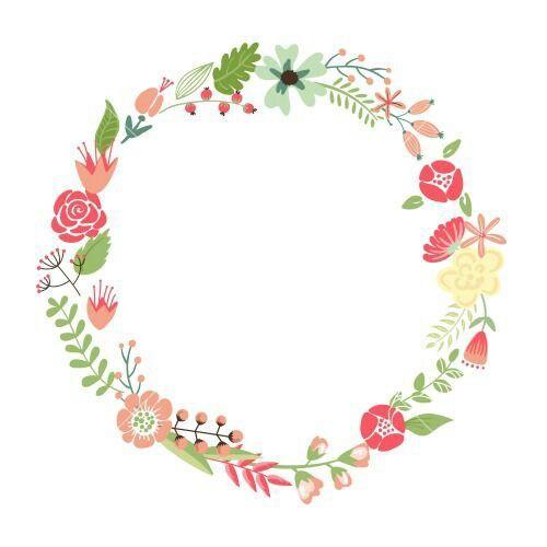 d84876dcf Marco redondo de flores vintage   marcado in 2019
