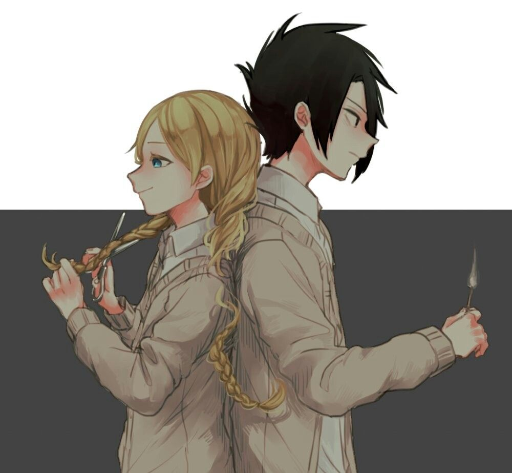 Anna & Ray | The Promised Neverland | The Promised Neverland
