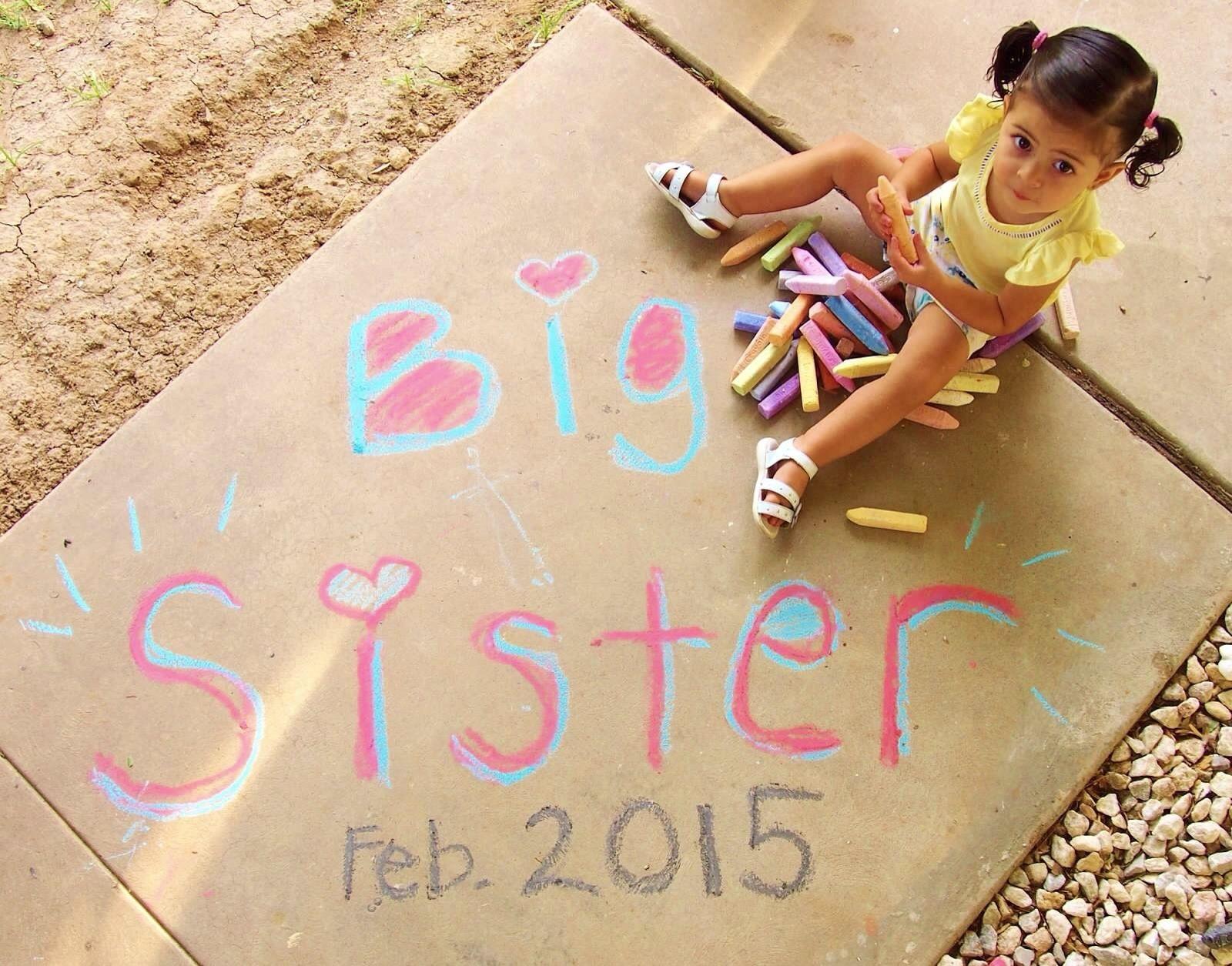 Baby number 2 announcement baby short 2 pinterest - Bebe en camino ...