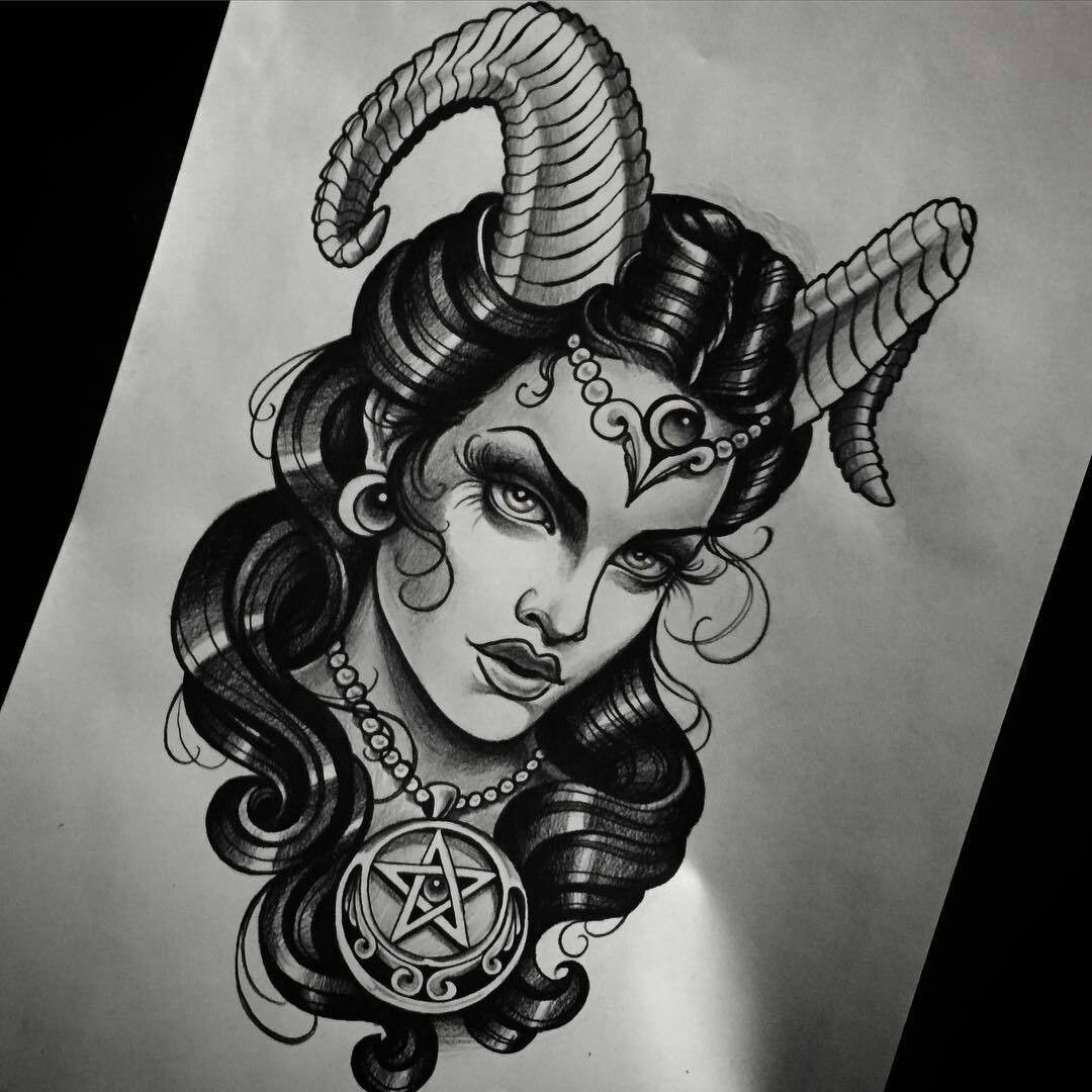 She devil tattoos designs for She devil tattoo