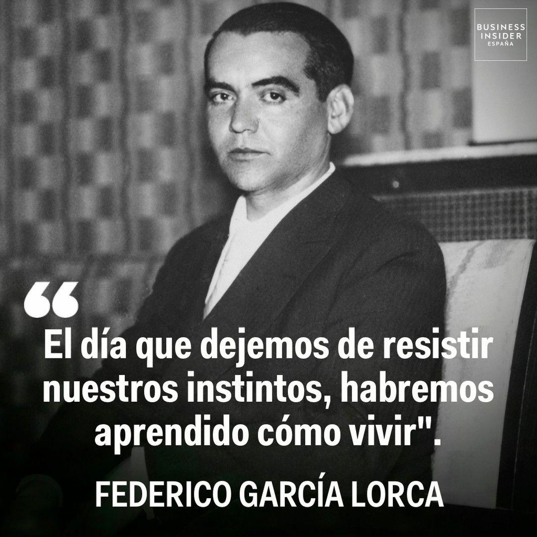Las Mejores Frases De Federico García Lorca Poemas Románticos Federico Garcia Lorca Frases Federico Garcia Lorca