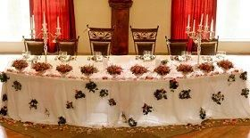 Pictures Of Head Table Decorations Slideshow