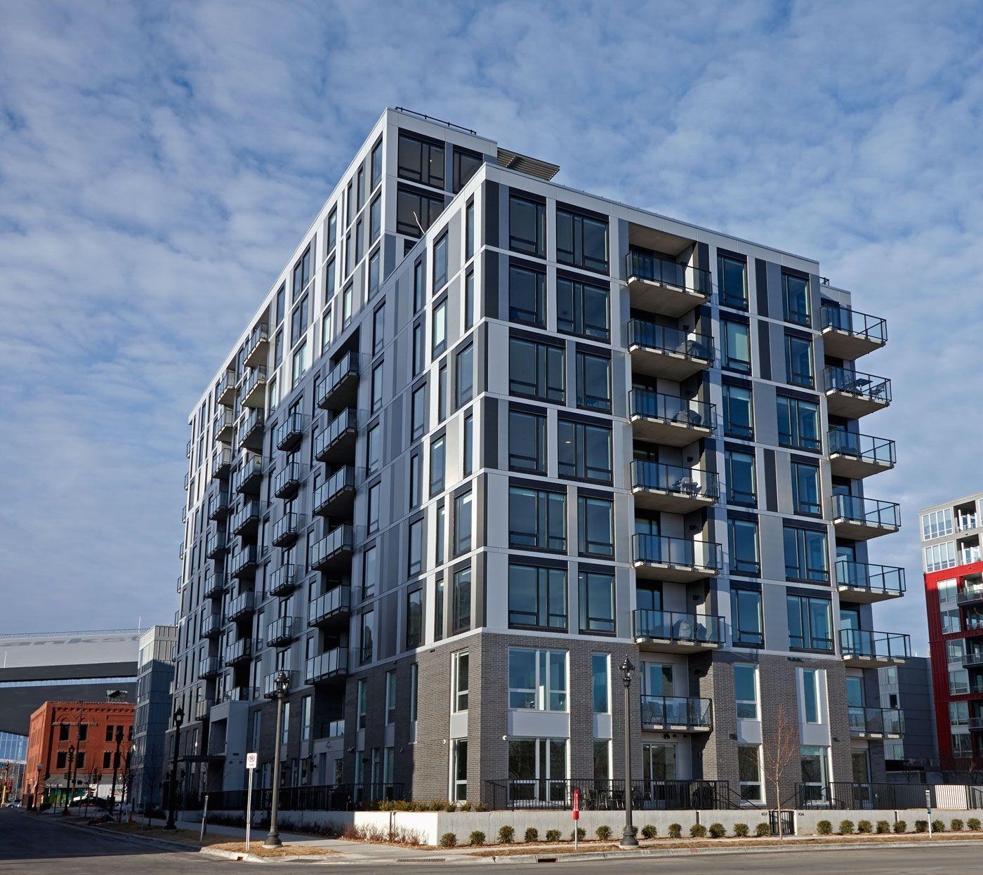 Affordable Luxury Apartments: Encore Luxury Apartments, Minneapolis, ESG Architecture
