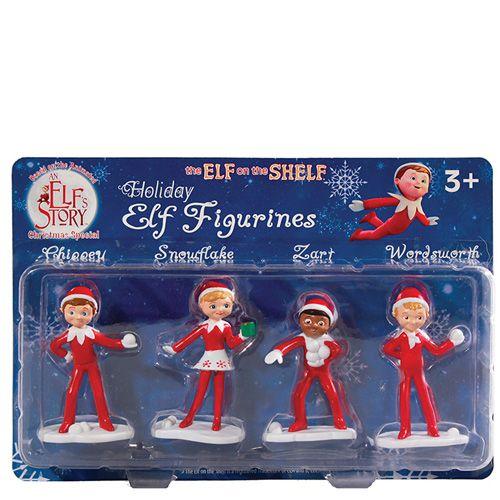 Elf on the Shelf Figurines  ~ UPC: 814854010111