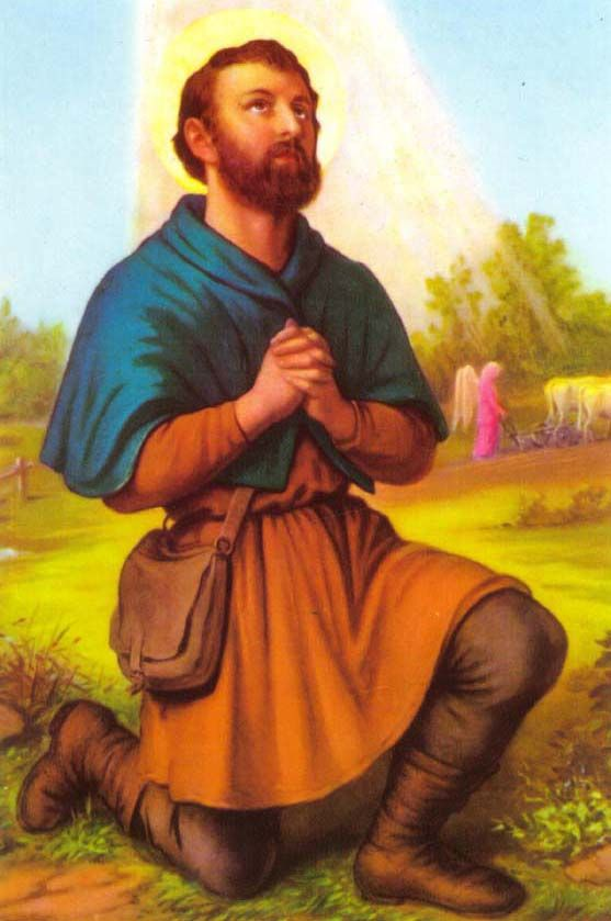 San Isidro Labrador St Isidore The Laborer Jesus Art Catholic Saints San Isidro
