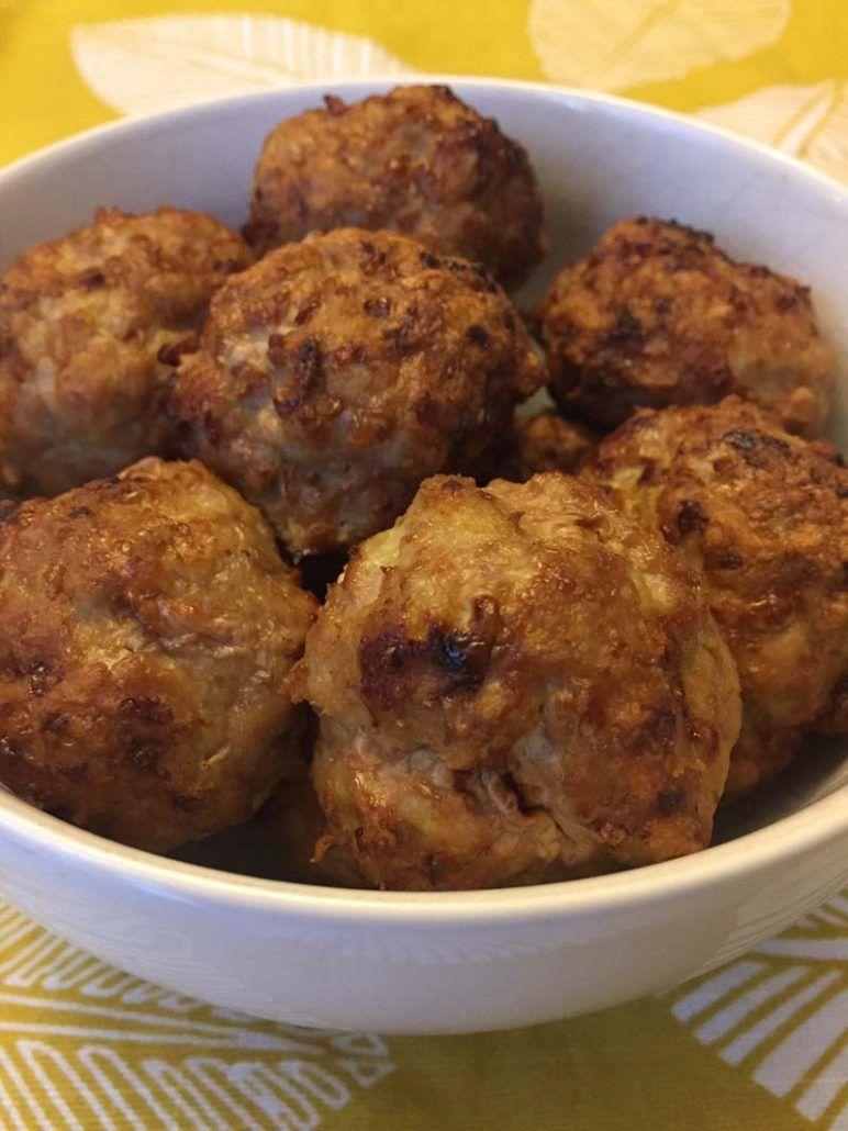 Air Fryer Meatballs Recipe Food recipes, Meatball