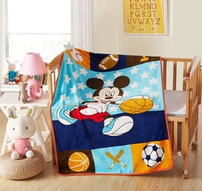 Hot selling Fashion Children Bedding cartoon paw patrol fabric kids single Twin Size bed Sheet worm blanket 100*140cm 24 Styles