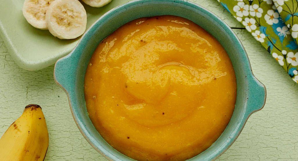 Mango banana puree babycenter baby food recipes