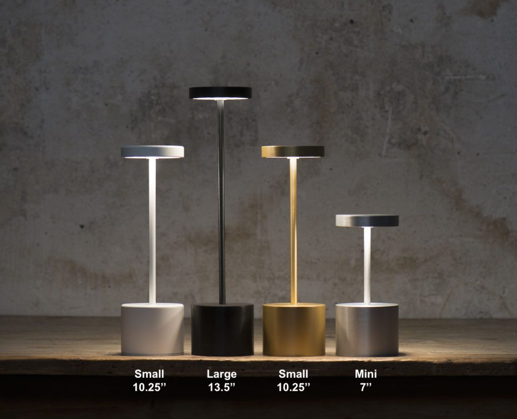 The Luxciole Cordless Rechargeable Lamp Diffuses A Warm Glare Free Led Light In Four Different Intensities The Rechargeable Lamp Aluminium Design Mini Lamp