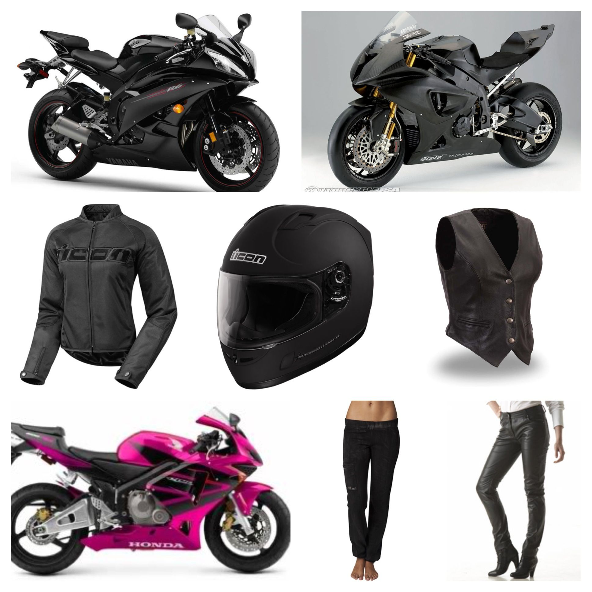 Street Bike Crotch Rocket Performance Motorcycle Sport And