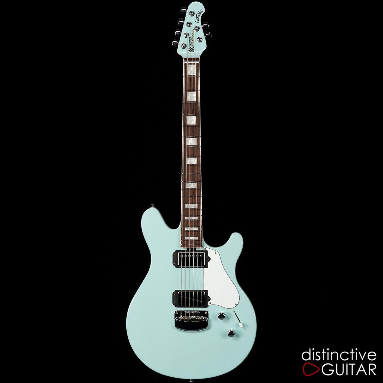 ernie ball music man valentine bfr 23 68 baby blue in 2019 guitars guitar pics music. Black Bedroom Furniture Sets. Home Design Ideas