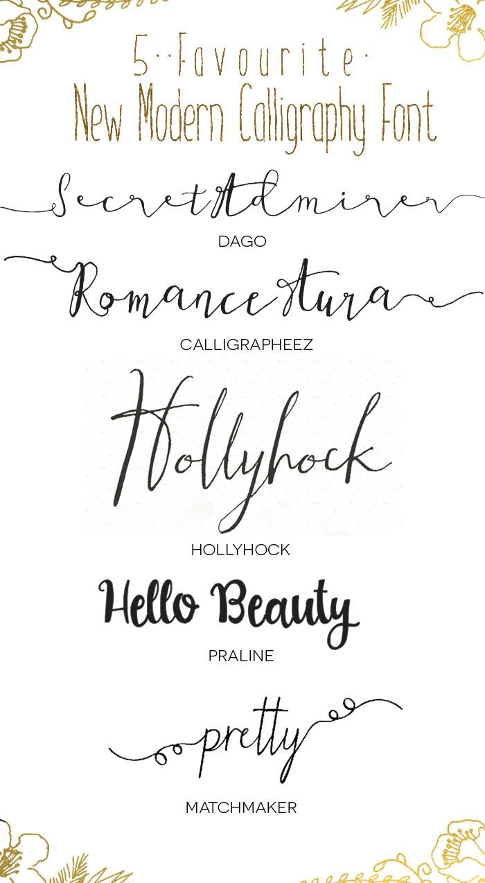 Favourite new modern calligraphy c a l i g r p h y